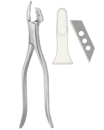 Crown Slitting Forceps